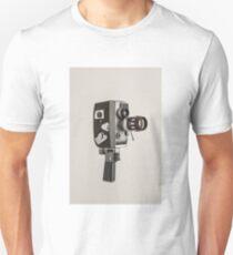 Retro Cine Camera Unisex T-Shirt