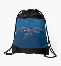 Giant from the Deep, Ningaloo, Western Australia Drawstring Bag