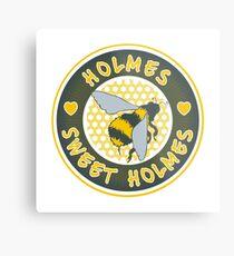 Holmes sweet Holmes Metal Print