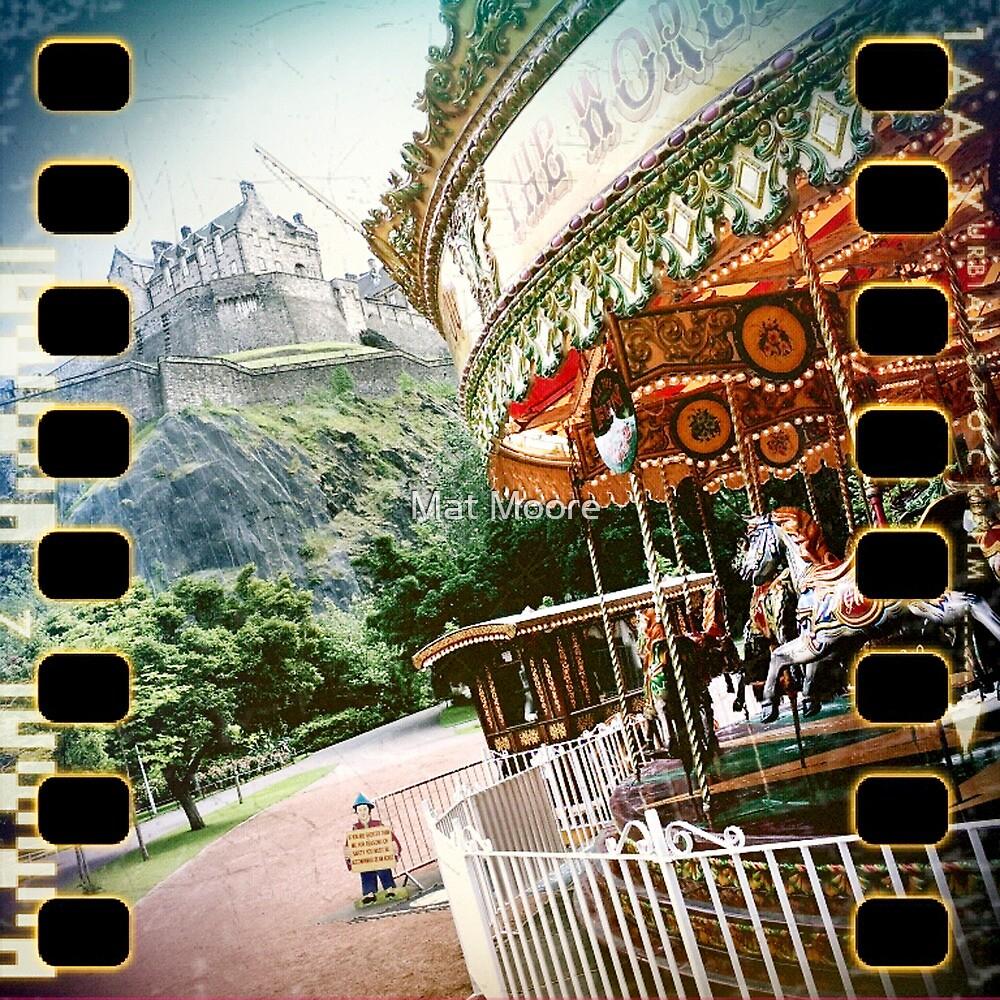 ' Edinburgh Castle ' by Mat Moore