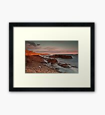 Sun, Rock 'n Water Framed Print