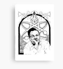 Richard Feynman Canvas Print
