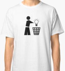 Bin your ideas Classic T-Shirt