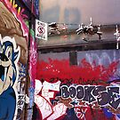 Hosier Lane with Sneakers by Roz McQuillan