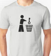 Throw away the key T-Shirt