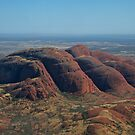 The Olgas from the Sky by styles