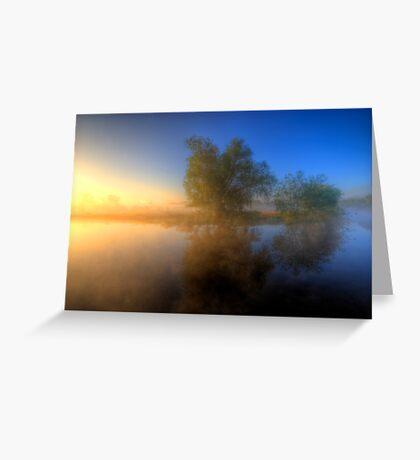 Misty Dawn 1.0 Greeting Card