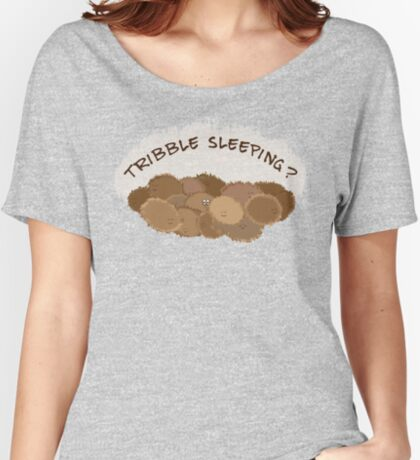 Tribble sleeping? Women's Relaxed Fit T-Shirt