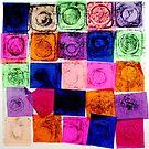 "Abstract Chine Colle Print by Belinda ""BillyLee"" NYE (Printmaker)"