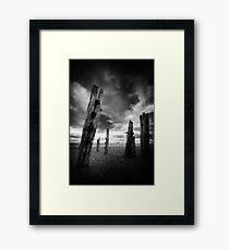 Spurn Point Framed Print