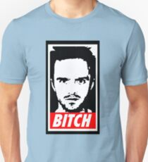 Breaking Bad Jessie Pinkman Obey Bitch Unisex T-Shirt