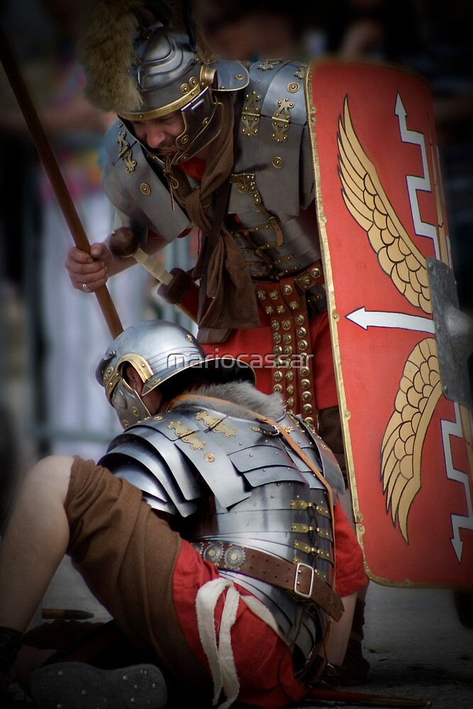 Roman Soldiers  by Mario Cassar