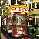 Restored Tram in garage by OurKev