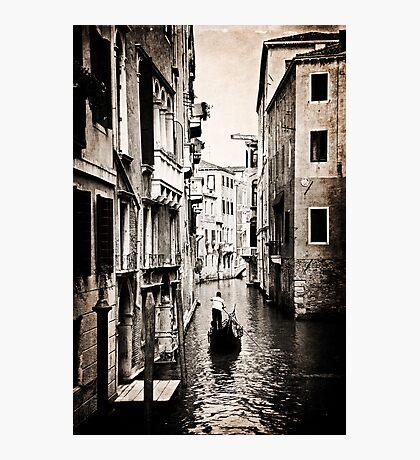 Lone Gondola Photographic Print