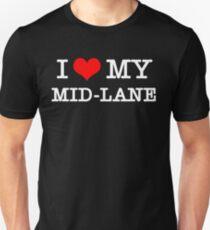 I Love My MID-LANE  [Black] T-Shirt