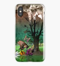 Nature Up in Smoke iPhone Case