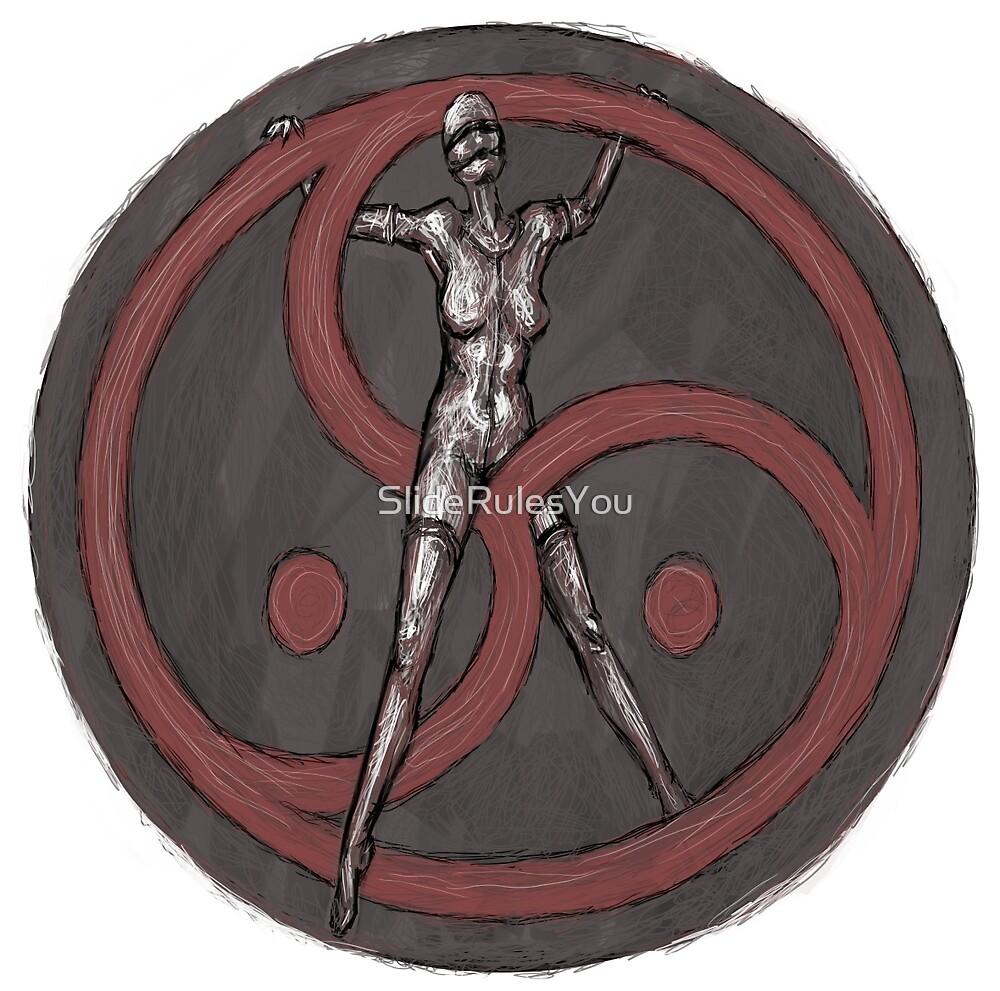 BDSM Triskelion by SlideRulesYou