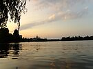 Sunset in Bucharest by Themis