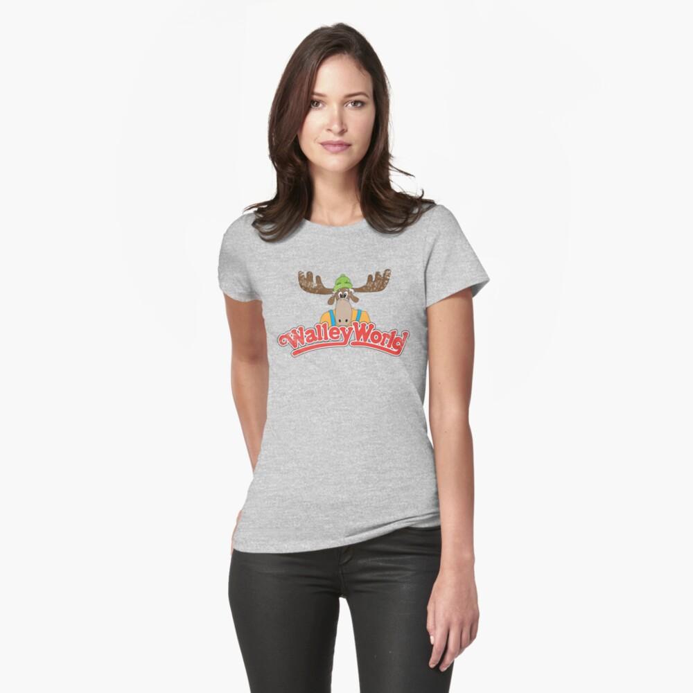 Walley Welt - Weinlese Tailliertes T-Shirt