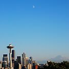 Space Needle's Moon by Randall Robinson