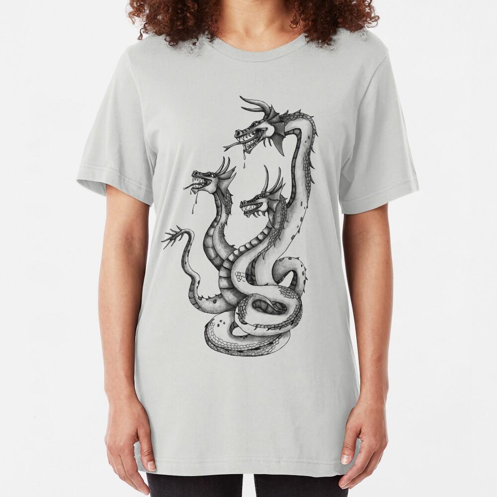 Three Headed Hydra Slim Fit T-Shirt