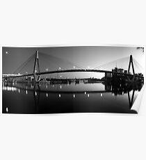 The Full Span ANZAC Bridge -Sydney Poster