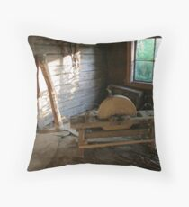 Old Whetstone Throw Pillow