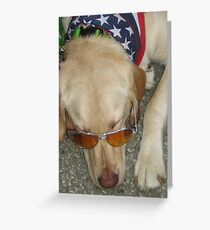 Patriot Pup Greeting Card