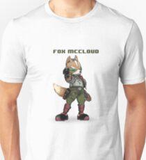 Fox McCloud - Pixelized w/ Laser Unisex T-Shirt