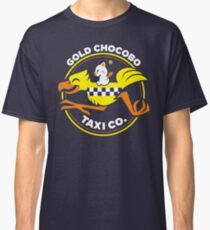 Gold Chocobo Taxi Co Classic T-Shirt