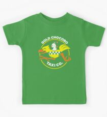Gold Chocobo Taxi Co Kids Tee