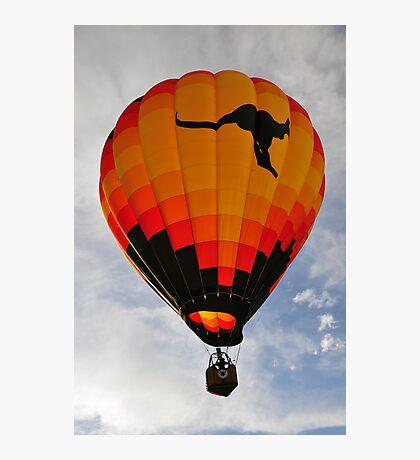 The Aussie Heir Balloon  Photographic Print