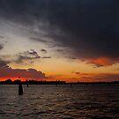 Venice Sunset by Barbara Wyeth
