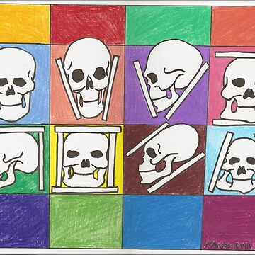 Variations on the Skull by Kandeart