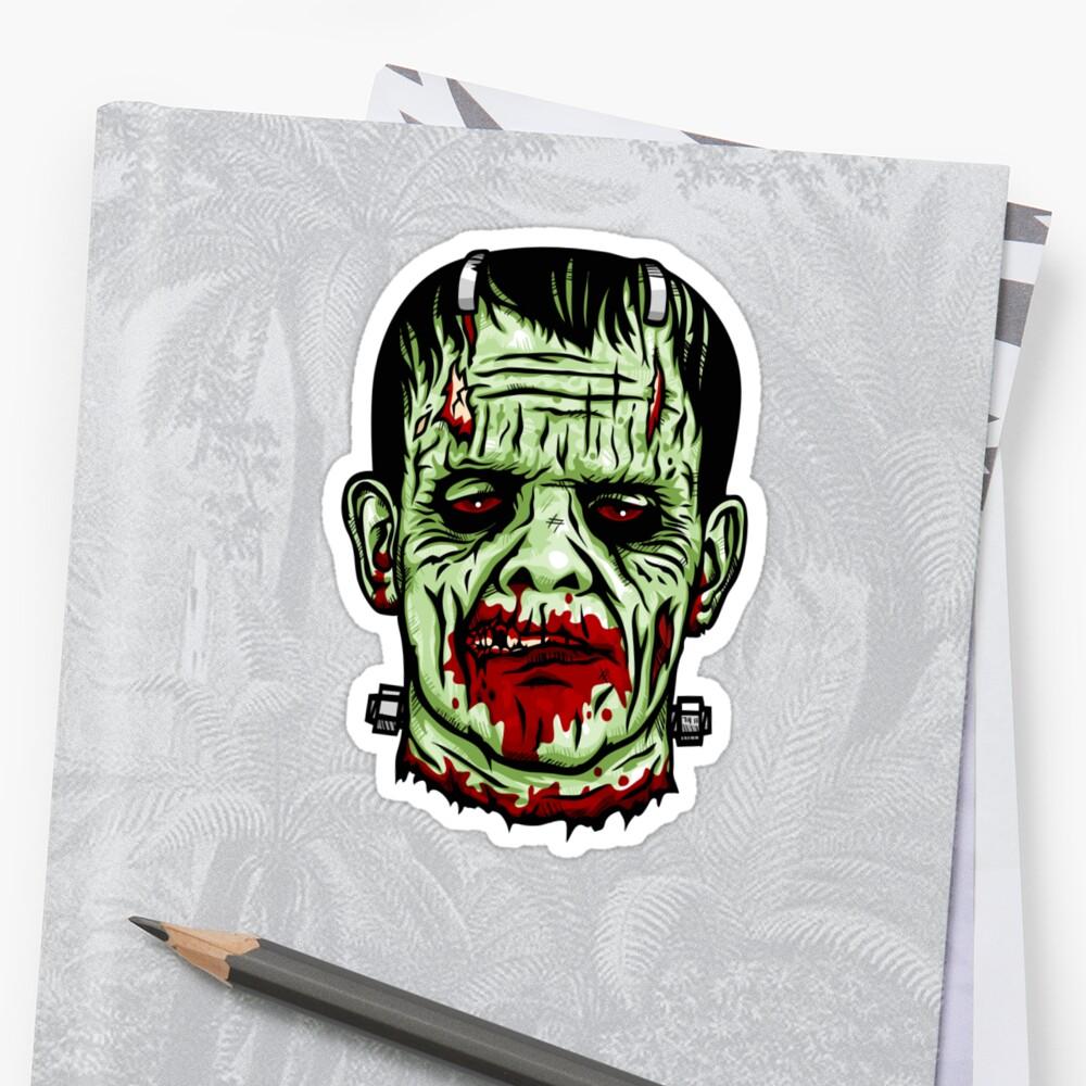 Zombie Frankenstein's Monster by Tim Andrew