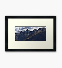 In the Land of Mordor Framed Print