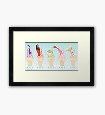 A Sweet Sea Framed Print
