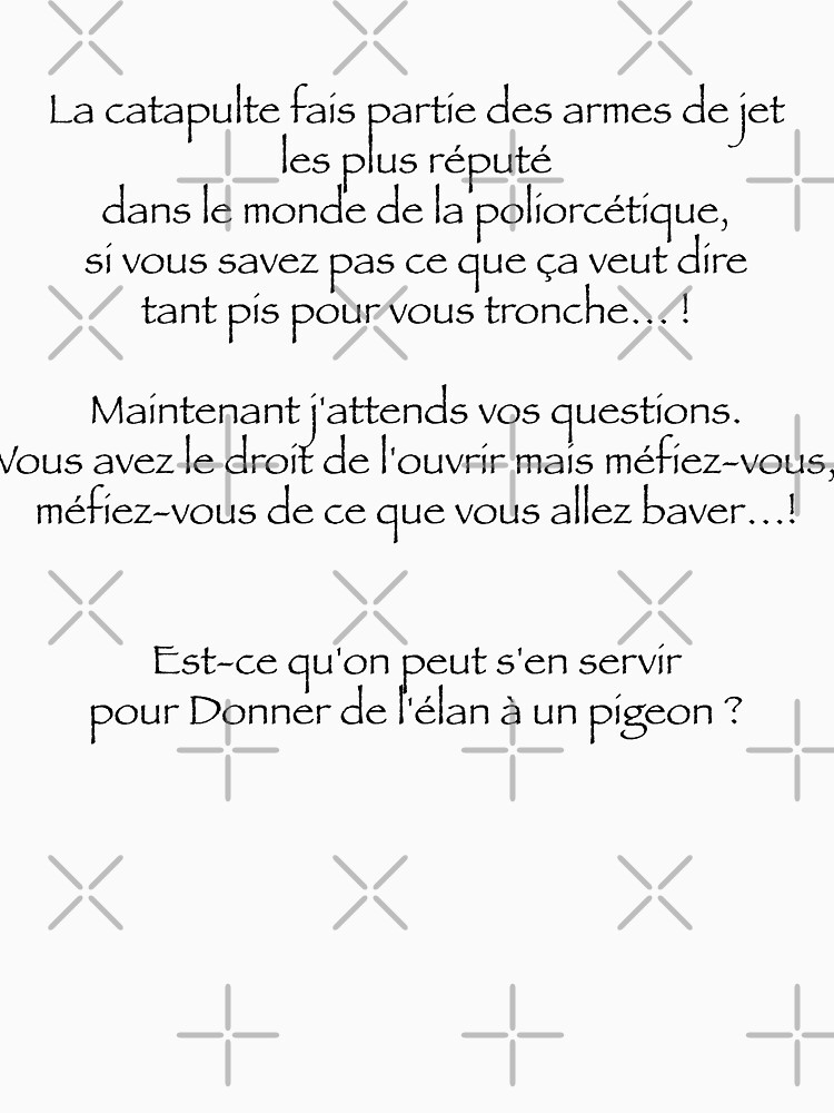 «La Catapulte...» par Timena