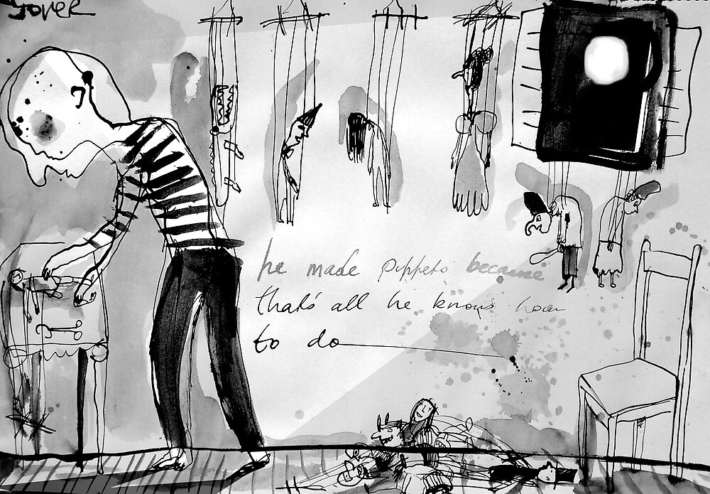 the puppet maker by Loui  Jover