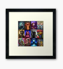 Muppet Maniacs Series 1 Framed Print