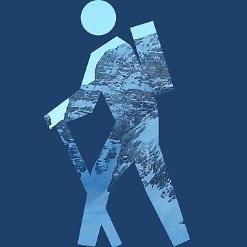 Alpine Hiker by MissCellaneous