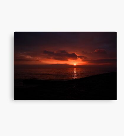 Sunday Sunrise Canvas Print