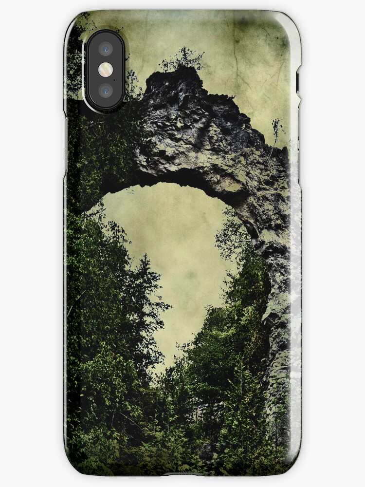 Arch Rock iphone case by Theodore Black