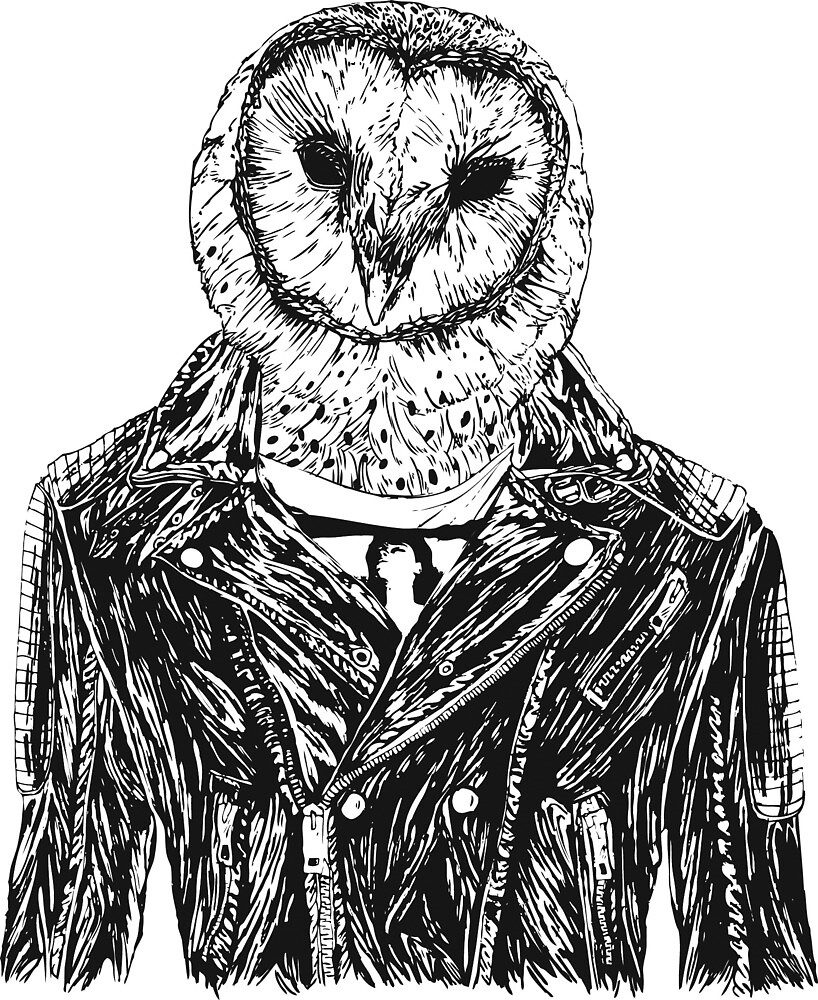 Owl Jacket by Ponchin0