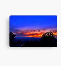 Capital Sunset Leinwanddruck