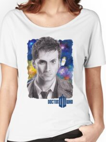 Doctor Who No.10 - David Tennant 2 Women's Relaxed Fit T-Shirt