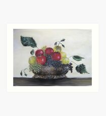 Fruit Basket Art Print