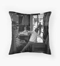 The Zombies Attack Throw Pillow