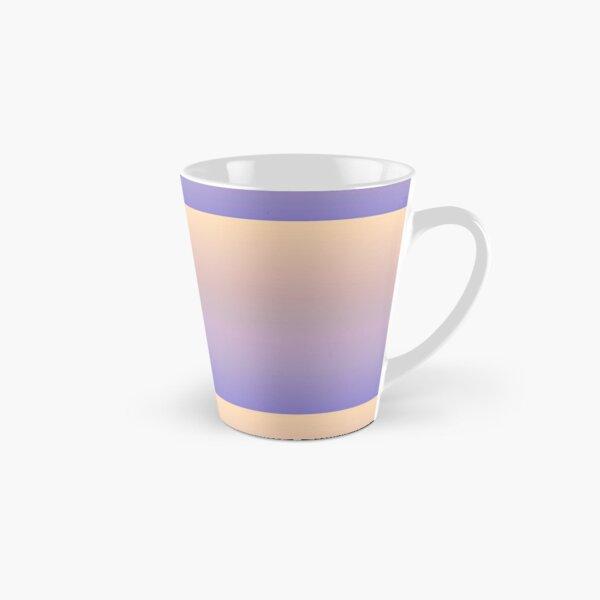 Light Orange Blue Gradient. Elegant blend of cool pastel ultramarine blue and warm pale orange. Tall Mug