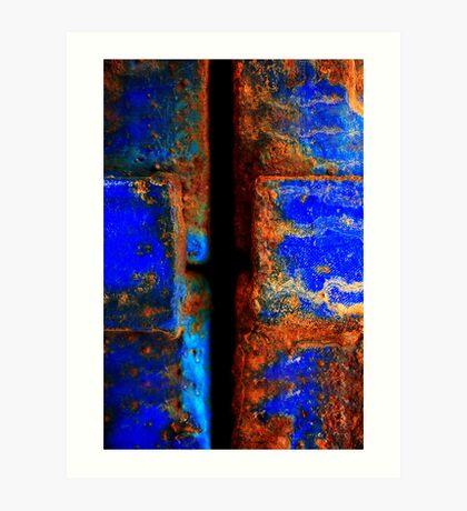 Moroccan Rust II Art Print